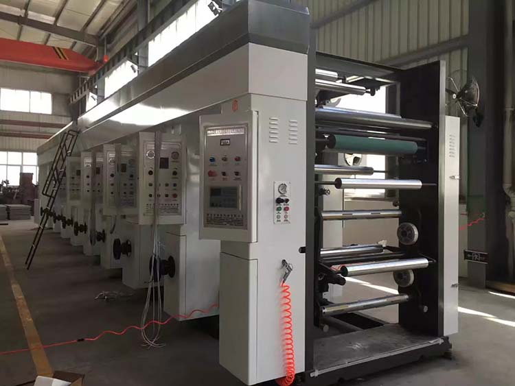 factory supplier lMiddle Speed Rotogravure Printing Machine