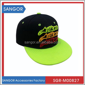 Discount updated plastic snap back cap and hat snapback
