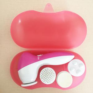 4 in 1 Hot sale electric facial massager face cleansing brush face cleanser and massager brush