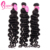 Cuticle Aligned Premium Hair Natural Wave Weaving Extension Top Bundles With Closure Vendors