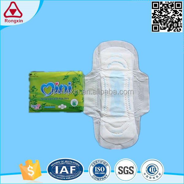 Belted feel free sanitary napkins quanzhou manufacturer for women hygiene disposable products