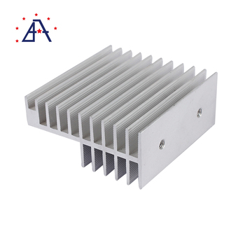 6000 series alloy Cold Forged LED Lamp Aluminum Heat Sink and Radiator