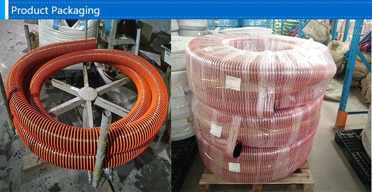 Nbr industrial suction oil resistant corrugated reinforced flexible rubber hose suppliers manufacturers petrol for truck