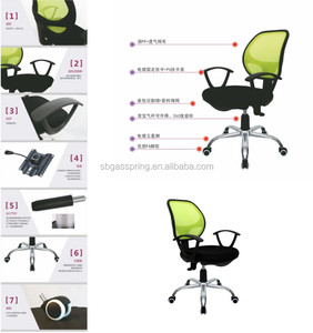 Fashionable Swivel Office Executive Meeting Visitor Mesh Training Chair