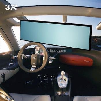auto accessoires blauw interieur breed achteruitrijcamera kamer auto achteruitkijkspiegel extra spiegel