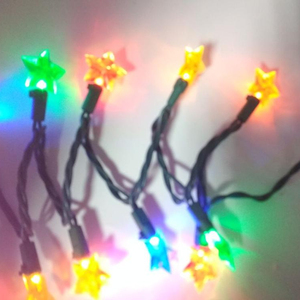Hot Products 2019 Christmas Outdoor Star String Lights Wedding Party Decorations LED Cluster Lights Bedside Wall Lamp
