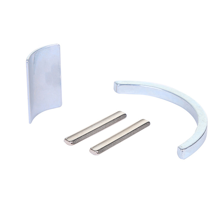 Customized permanent magnet Super strong Neodymium magnet arc NdFeB magnet for motor