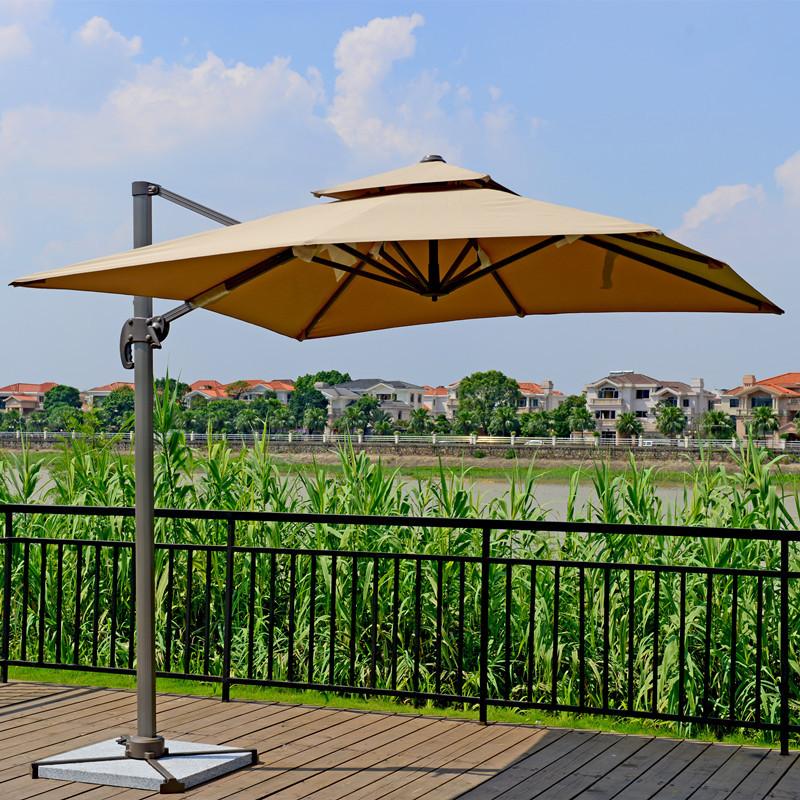 outdoor furniture roman shade parasol umbrella outdoor garden patio awning booth casual beach. Black Bedroom Furniture Sets. Home Design Ideas
