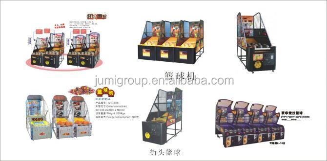 15years experience for basketball machine game