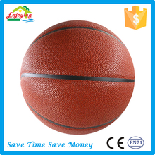 minimum order size 7 pu leather material adults basketball with no logo