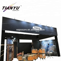 Outdoor Standard Modular Frameless System for Trade show fair/Booth/Display/stand