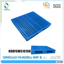 1000X1000 Cheap HDPE double pace plastic pallet reversible
