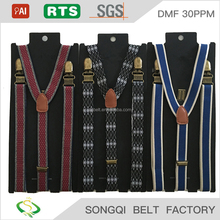 Adjustable suspender belt men fashion suspenders
