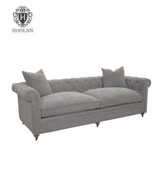 French Country Style Chesterfield Sofa For Living Room S1078 F64