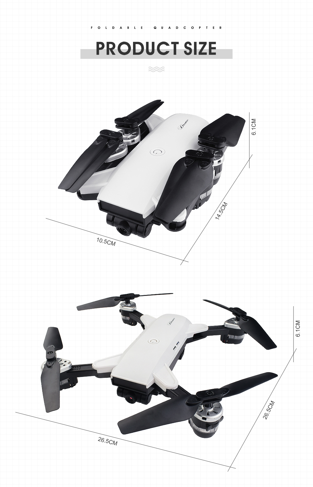 2019 New JD-20 YH-19 drone With 2MP WIFI Camera HD wide angle Foldable RC mini Drone vs XS809s SG700