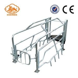 Best Quality Steel Galvanized Pig Farrowing Cage Equipment For Sale