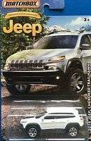 MATCHBOX LIMITED EDITION JEEP ANNIVERSARY EDITION WHITE 2014 JEEP CHEROKEE TRAILHAWK DIE-CAST by Matchbox