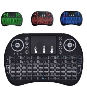 2.4GHz Mini i8 Wireless Touchpad Airmouse Backlight Keyboard