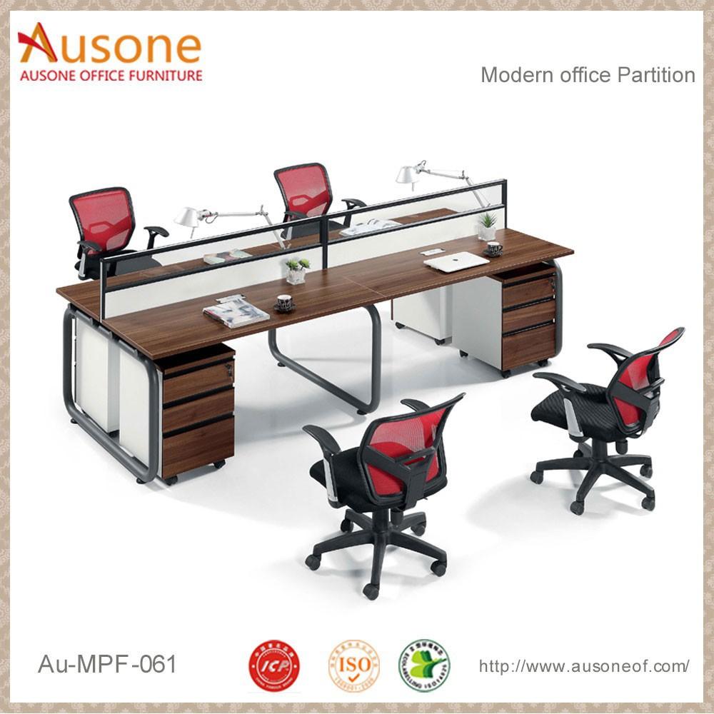 Mesas para computadoras baratas 4 plazas workstation escritorio simple particiones de oficina - Mesas de escritorio baratas ...