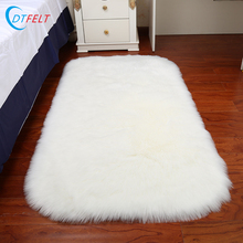 Top quality wholesale long wool tibetan 100% sheepskin rug