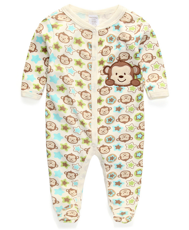 ed8fef9dfc3e Buy Baby Pajamas Rompers Body suits Carters Foot Cover Newborn boys ...