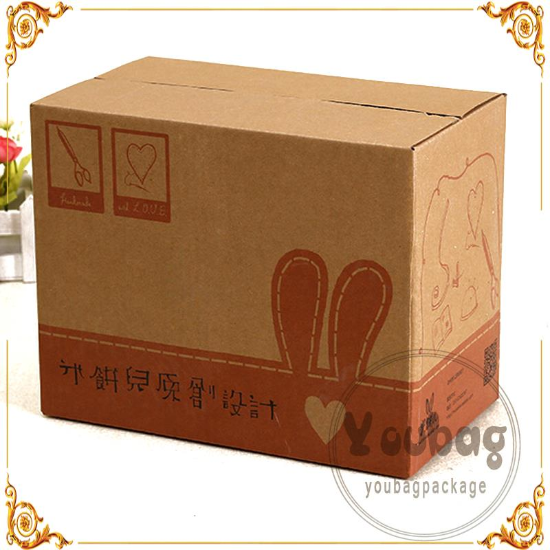 Brand new various style rsc shape corrugated paper shipping cartons foldable paper master boxes for mailing