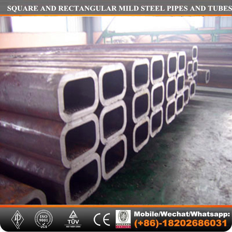 Tianjin factory-060 S355 Square Hollow Section/MS BOX SECTION Q235B Mild steel PIPE