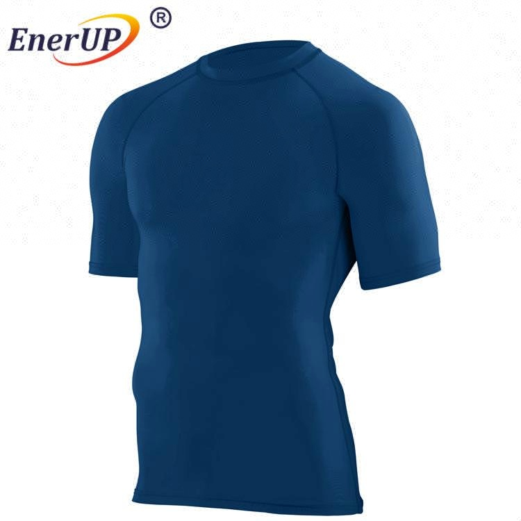 Baselayer Korte Mouw korte T shirts mens compressie shirts