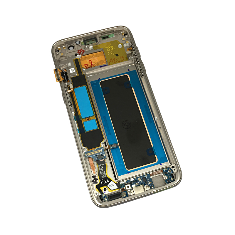 Mobile Phone Lcds Hot Sale 2560*1440 5.7 Super Amoled Display For Samsung Galaxy S7 Edge G935 Sm-g935f Lcd Screen Touch Digitizer With Frame Assembly