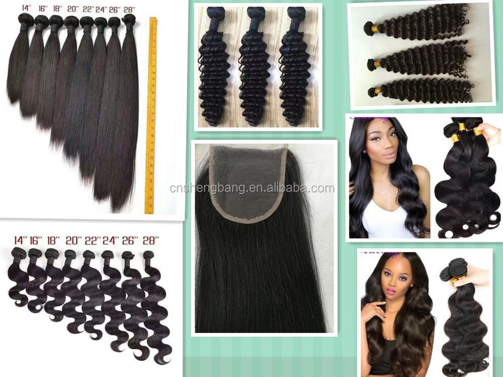 "In stock hair bundles wave and curly 14""-30"" natural color 7a wholeasle brazilian hair"