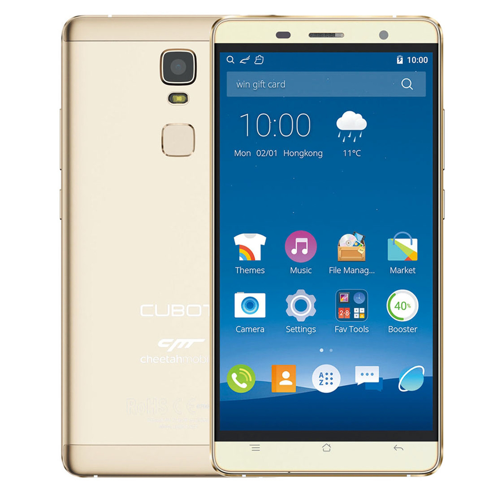 CUBOT CHEETAH 4G China Smartphone, Fingerprint Identification, 5.5-inch Android 6.0 MTK6753 8-Core, 3+32GB
