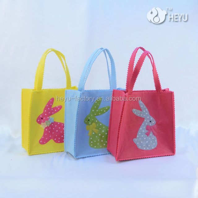 Easter gift bag craft wholesale gift bag suppliers alibaba 2017 new arrival jute bag rabbit ears bag easter gift bunny hand bag negle