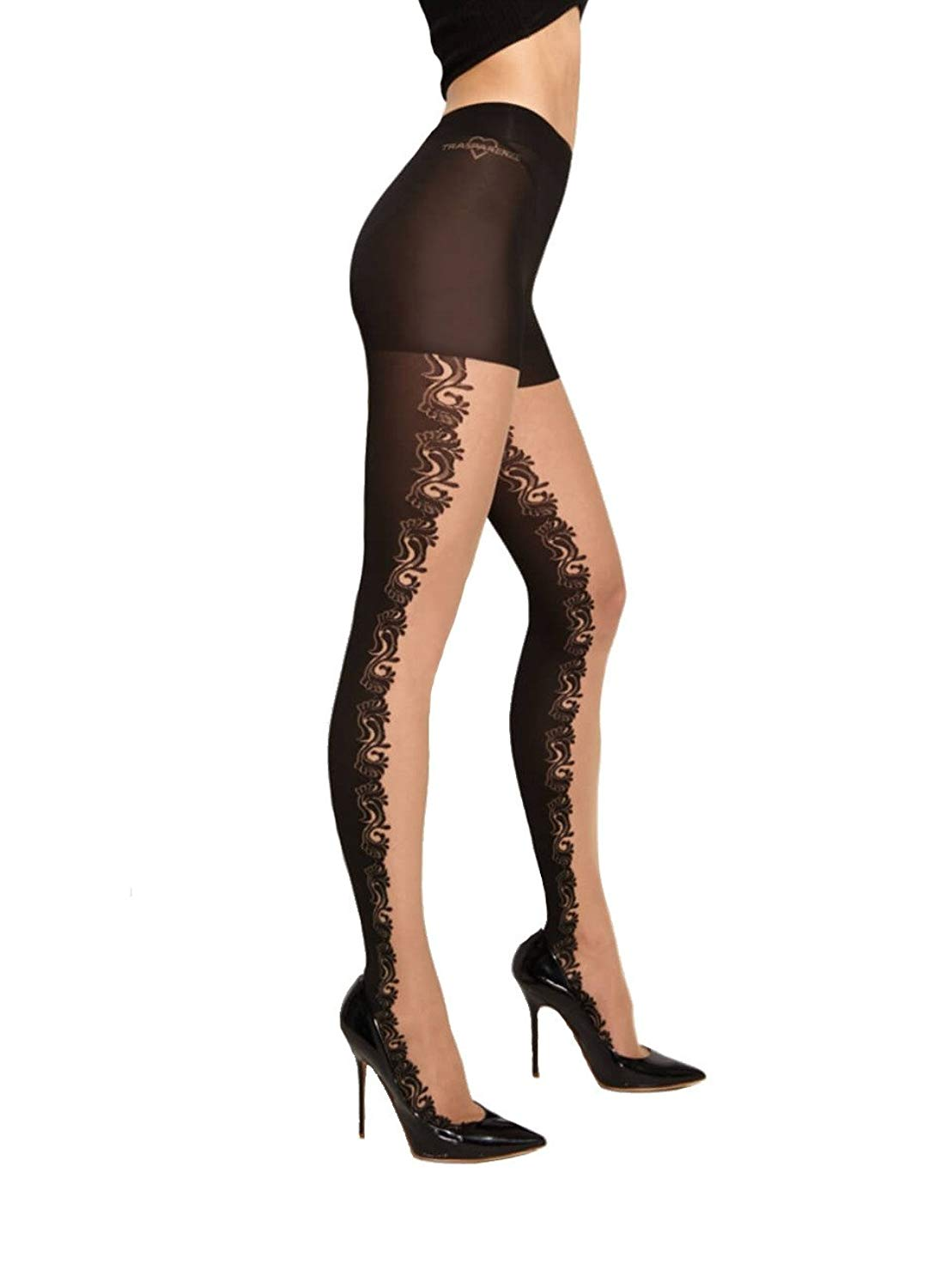7f0001491db Get Quotations · Trasparenze Fellini Tights - Hosiery Outlet