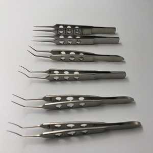 Ophthalmic surgical instruments stainless steel forceps clamps eye operating surgery instruments