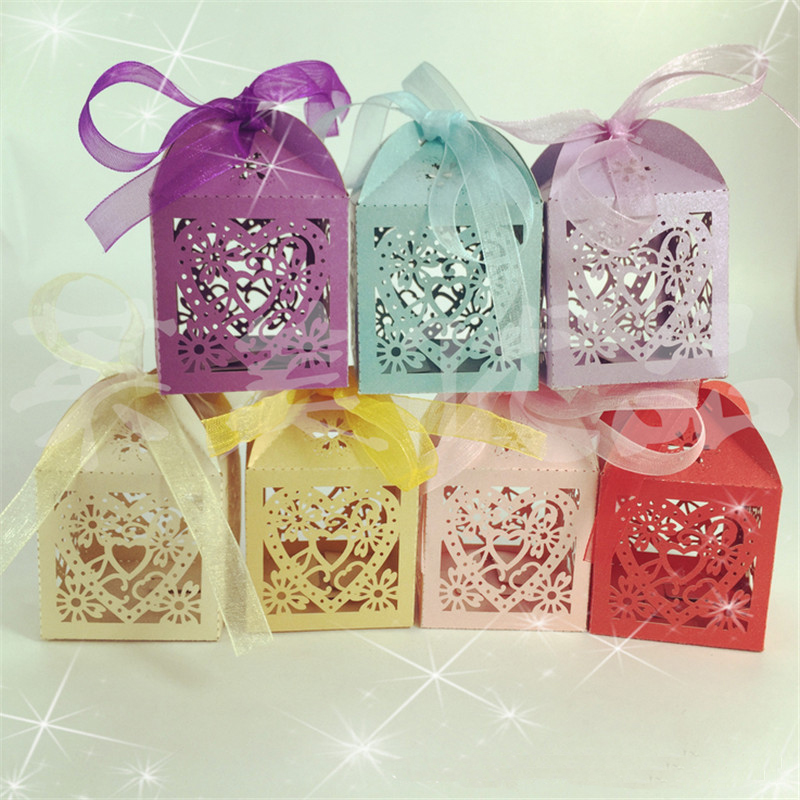 Wedding Reception Gifts For Guests: 10Pcs/set Wedding Favors And Gifts For Guests Love Heart