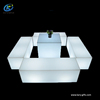 Unique glow sofas lounge chair led bar furniture chair sets