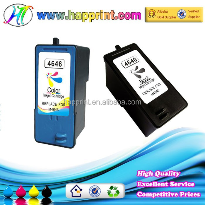 Remanufactured Original Ink Cartridge for Dell M4640 M4646 J5566 J5567 Ink Cartridge Clip and Cartridge for Dell
