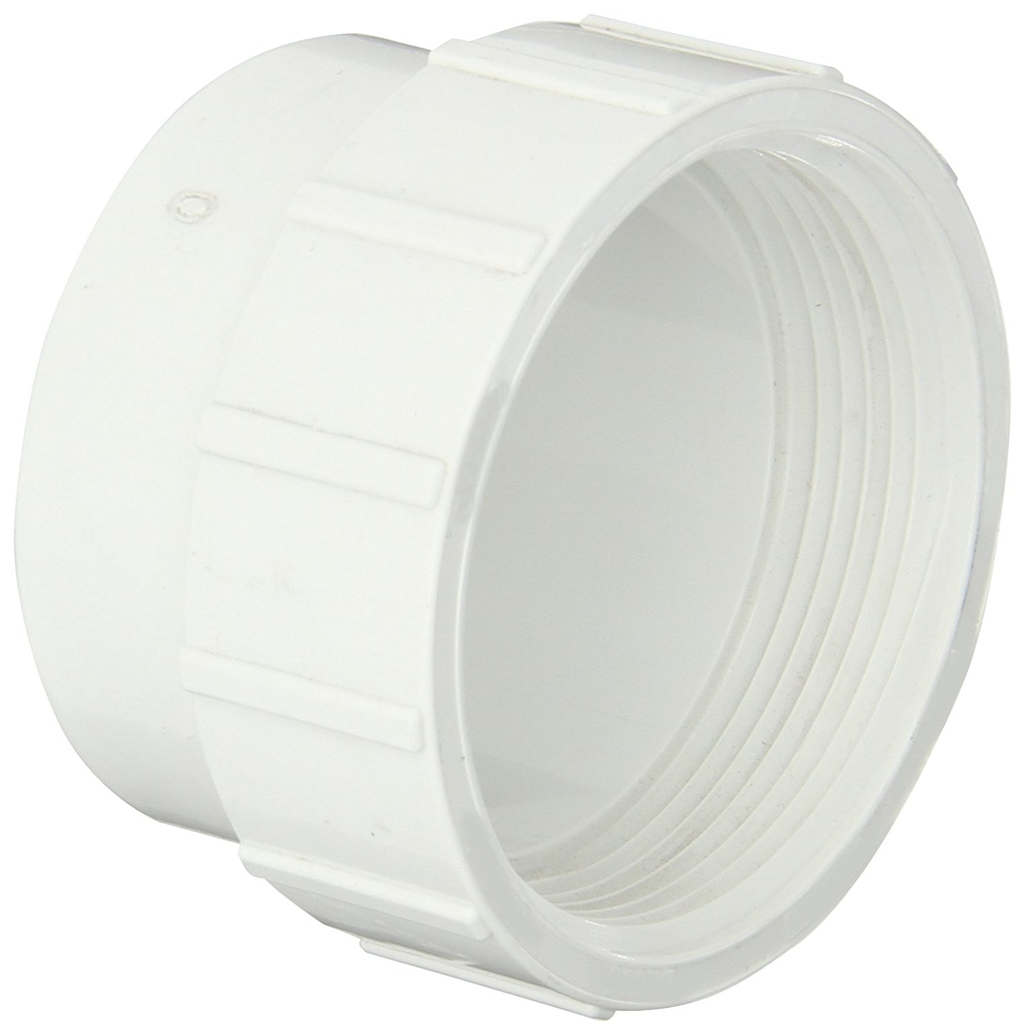 2-1//2 NPT Male Cleanout Plug Spears P106 Series PVC DWV Pipe Fitting