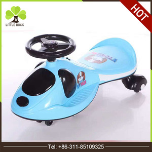 2017 new baby walking kids wiggle scooter cute slider children swing car with CE