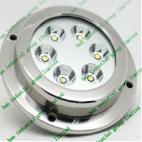 36w Rgb Led Underwater Light For Boats/docks/fountains/ponds