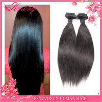 Direct Factory Price Top Quality Thick Ends Human Mongolian Straight Hair Wholesale