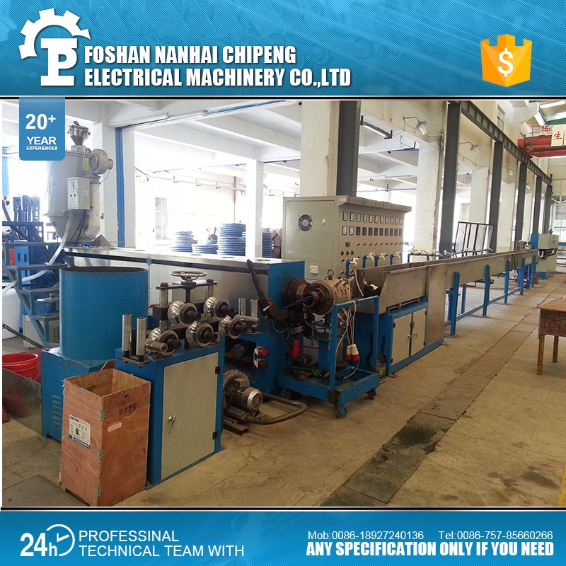 Wire And Cable Extruder Production Line, Wire And Cable Extruder ...