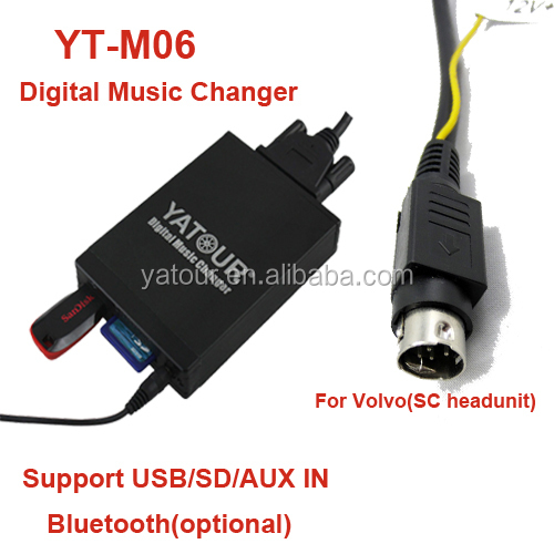 Yatour Car Radio Music Interface Yt-m06 For Volvo Sc ...