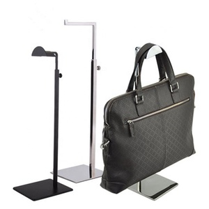 custom hand bag metal hook display stands holder