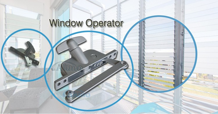 window blinds operator