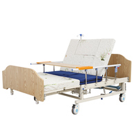 Steel Manual medical 4 crank kenya hospital bed With ABS bedhead