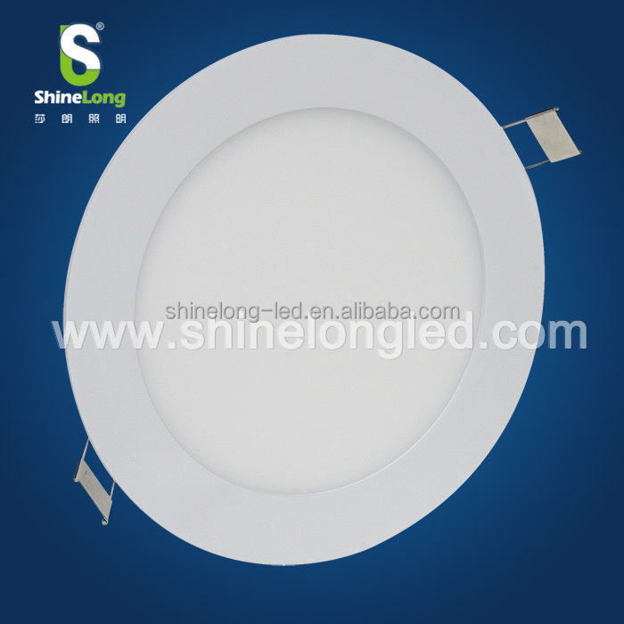 built-in 5w round flat ceiling led light with UL/TUV approved driver