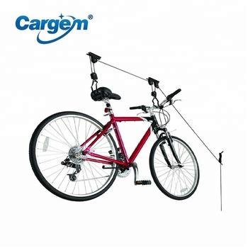 Ceiling Bike Rack >> Ceiling Mounted Bike Rack Lift Garage Bike Hooks For Garage Ceiling
