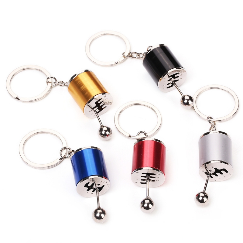 MOQ Classic Keychain Auto Part Model Gear Creative Cars Key Chain Ladies Bags Pendant Keyring Gifts Accessories Free Shipping