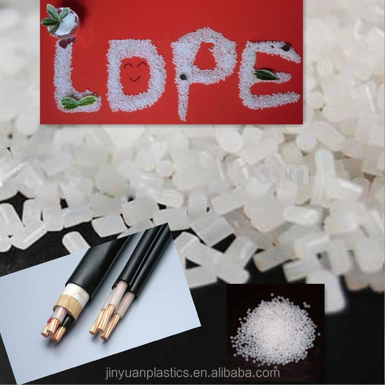 White LDPE cable insulation compound for sales